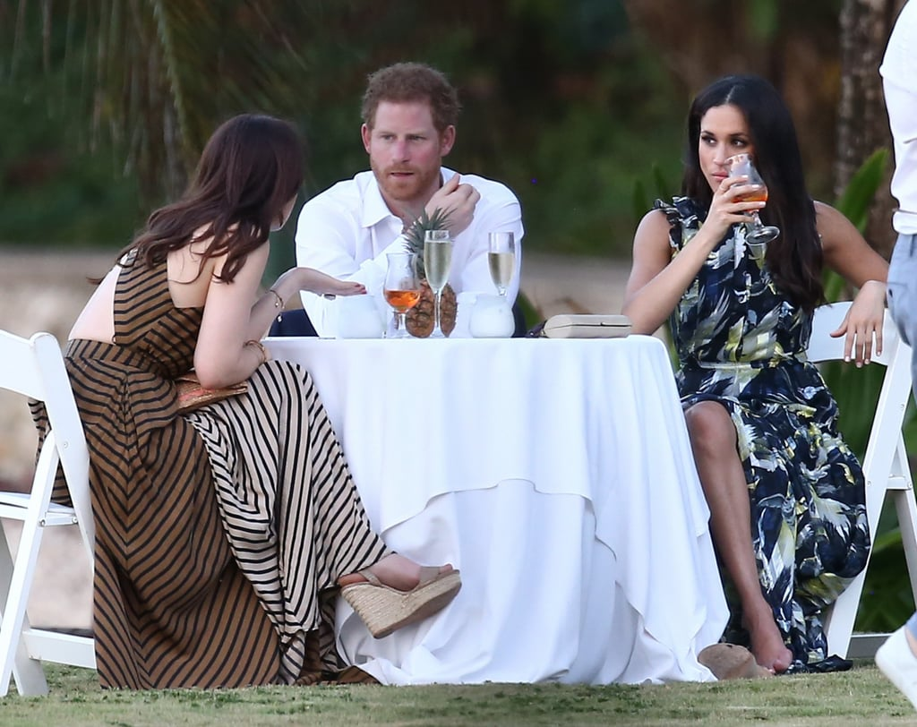 Prince Harry And Meghan Markle At Wedding In Jamaica 2017 Popsugar
