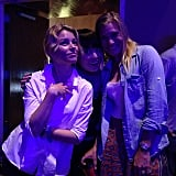 Banks posed with Hana Mae Lee and Katee Sackhoff. Source: Instagram user pitchperfectmovie
