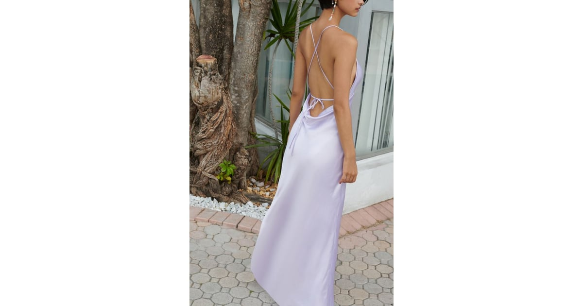 41608f0734f UO Romi Open-Back Maxi Slip Dress