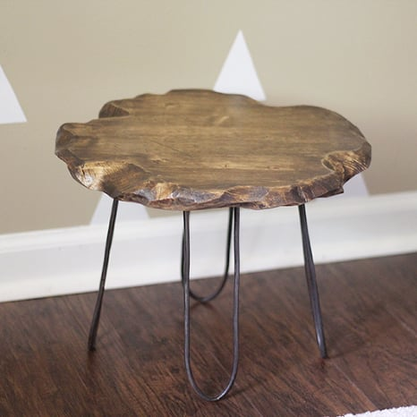 DIY Hairpin-Style Furniture Legs