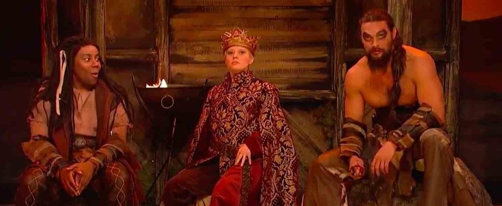 Jason Momoa Game of Thrones Skit on Saturday Night Live 2018