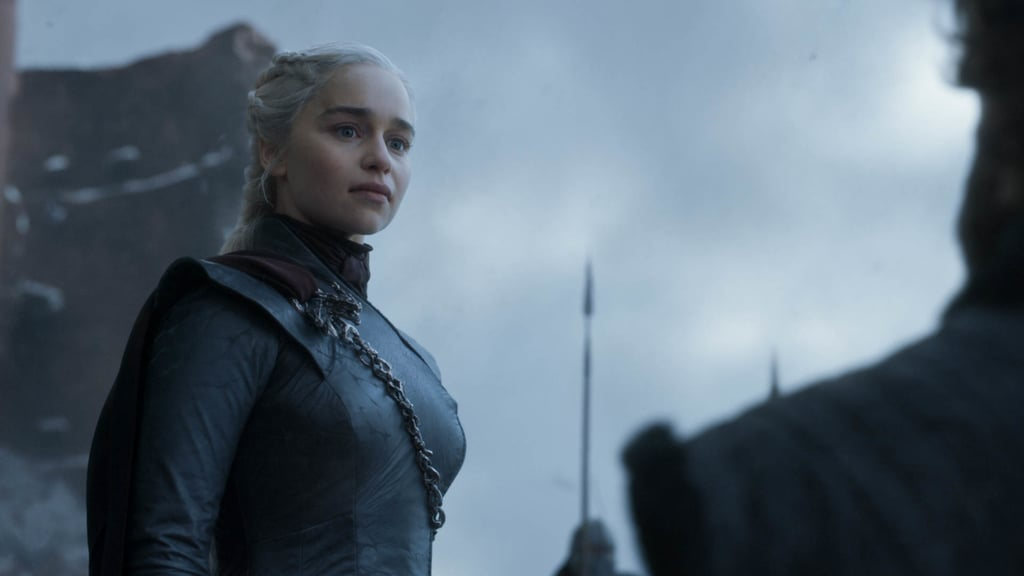 "Warning: huge Game of Thrones spoilers ahead! If you think you have a lot of feelings about Daenerys Targaryen's fate on Game of Thrones, just imagine how actress Emilia Clarke feels after playing the iconic character for nearly a decade. In an interview with Entertainment Weekly, Clarke opened up about her initial reaction to the script, the experience of acting in those final scenes, and what it was like when Kit Harington learned where their characters end up at the end of the series. Back in October 2017, Clarke settled in at home to read Daenerys's final scene, which she ended up reading seven times in a row before crying and going for a walk to clear her head. ""It comes out of f*cking nowhere,"" she told EW, adding that she was ""flabbergasted"" and ""absolutely never saw that coming."" Yeah, she's not alone. Two days after reading the script and having that emotional experience, she hopped on a plane to Belfast for the final season table read — but, unfortunately, she sat beside Harington, who chose not to read the script ahead of time. Ugh, can you imagine? Clarke joked, ""This literally sums up Kit and I's friendship. 'Boy! Would you? Seriously? You're just not? . . . '"" She strategically sat across from Harington during the reading so that she could witness his initial reaction, and when they got to the moment when Jon Snow takes Daenerys in his arms only to kill her, the pair made eye contact. As Harington recalled to EW, ""I looked at Emilia and there was a moment of me realising, 'No, no . . .'"" but Clarke nodded, and Harington cried. In the end, Clarke said, ""then it was kind of great, him not having read it."" Check out Clarke's full interview with Entertainment Weekly to see how she felt about the surprising turns for Daenerys throughout season eight — spoiler alert: she says she stands by Daenerys — then see how fans reacted to the Game of Thrones finale."