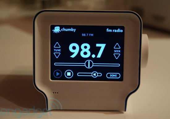 Daily Tech: The Second Gen Chumby Makes Its Debut