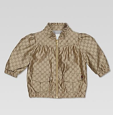 Gucci Infant's GG Bomber Jacket