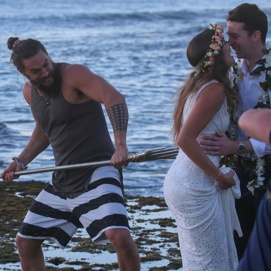Jason Momoa Photobombing Wedding Photos in Hawaii 2018