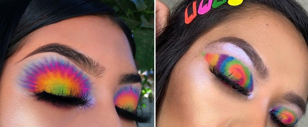 Tie Dye Makeup Trend