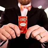 """The wedding's hot sauce packets will read, """"Marry me."""""""