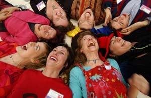 Laughter Yoga:  It's No Joke