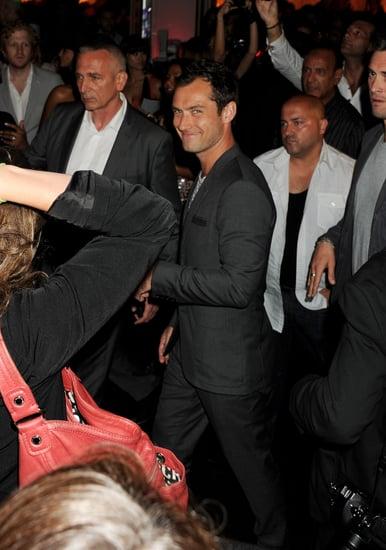 Photos de Jude Law et Vanessa Hudgens a la soiree Belvedere au Festival de Cannes
