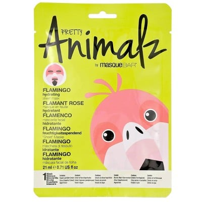 Moisturizing Pretty Animalz Flamingo Sheet Mask