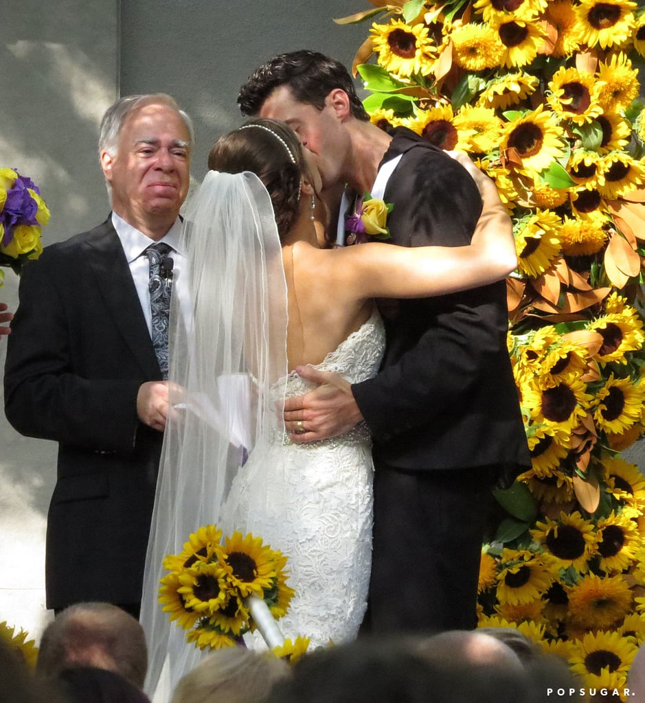 American Idol's Ace Young married Diana DeGarmo at Luxe Hotel in Brentwood, CA, in June 2013.