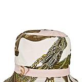 Hermès Cream Silk Motif Bucket Hat