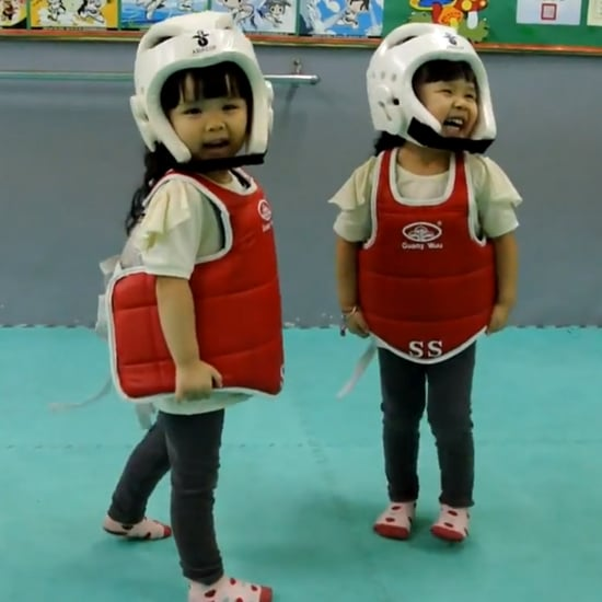 Cute Little Girls Learn Martial Arts | Video