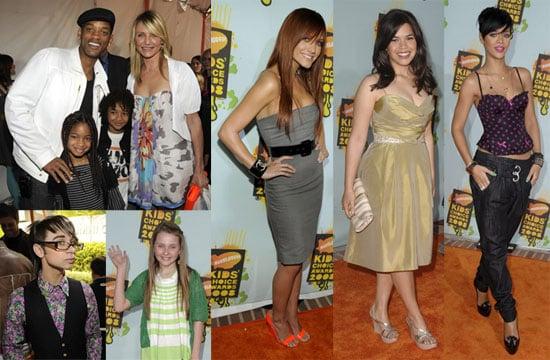 The 2008 Nickelodeon Kids' Choice Awards Red Carpet