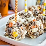 Chocolate Peanut Butter Cheerios Popcorn Balls