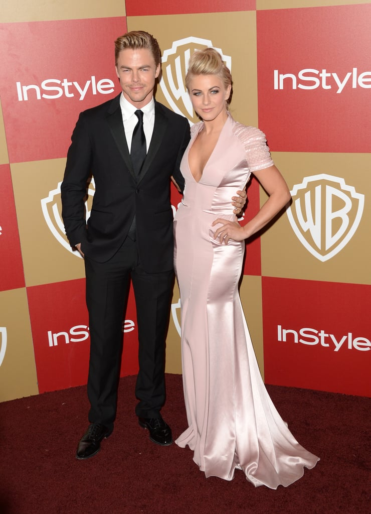 Julianne Hough posed with her brother Derek Hough.