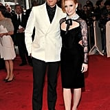Peter Dundas, with Jessica Chastain in Emilio Pucci