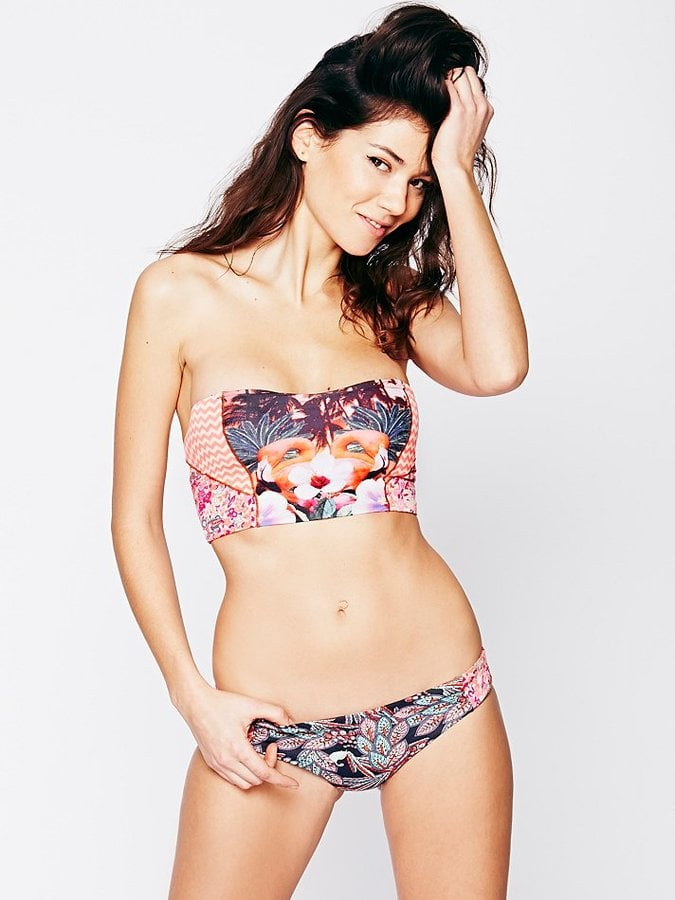 Free People Flamingo Bikini