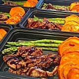 Balsamic Steak + Sweet Potatoes + Asparagus