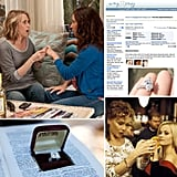 "Ring Etiquette: Tacky or Tasteful? Once you've found out a friend has been engaged, the first thing you want to ask them is, ""Can I see the ring?"" But is that being presumptuous? And if you're the one who said yes to a proposal, how do you approach those inevitable inquiries on Facebook? Is it OK to put photos up online? And then there's always the issue of what you should do if the engagement is called off. I have these and more ring etiquette scenarios that you may face as either a bride-to-be or an acquaintance of one, and I want to know if you think they are tacky or tasteful."
