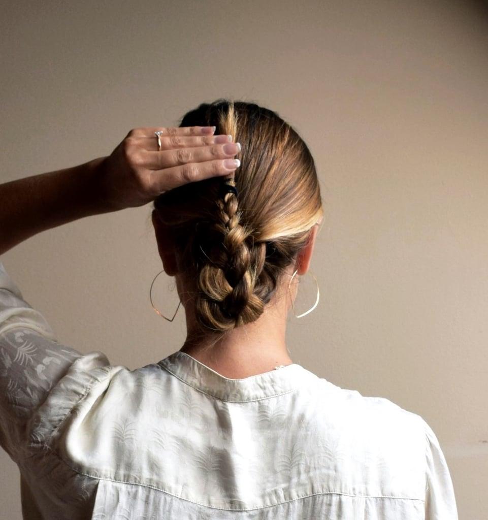Step 5: Fold the Braid in Half