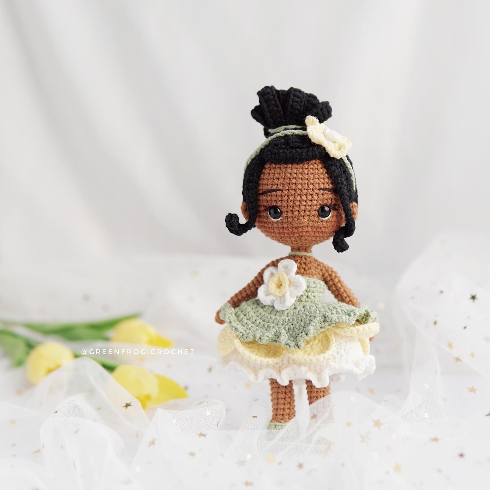 Amigurumi Cinderella doll (Disney princess) - free crochet pattern ... | 1588x1588