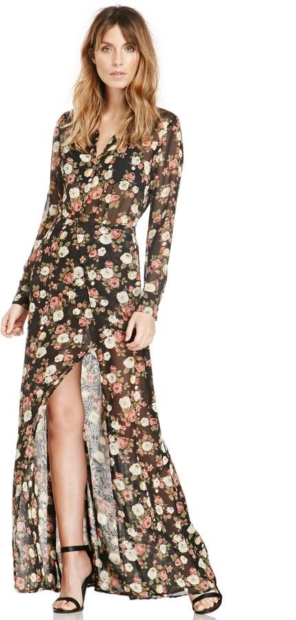 Dailylook Sparrow Floral Maxi Dress