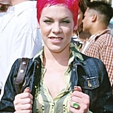 At the 2000 Teen Choice Awards, Pink showed off her, well, pink hair, securing its place in the world of iconic styles.