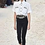 Walking in Chanel