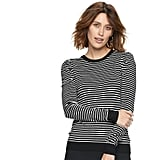 POPSUGAR at Kohl's Striped Puff-Sleeve Sweater