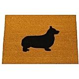 Corgi Silhouette Doormat