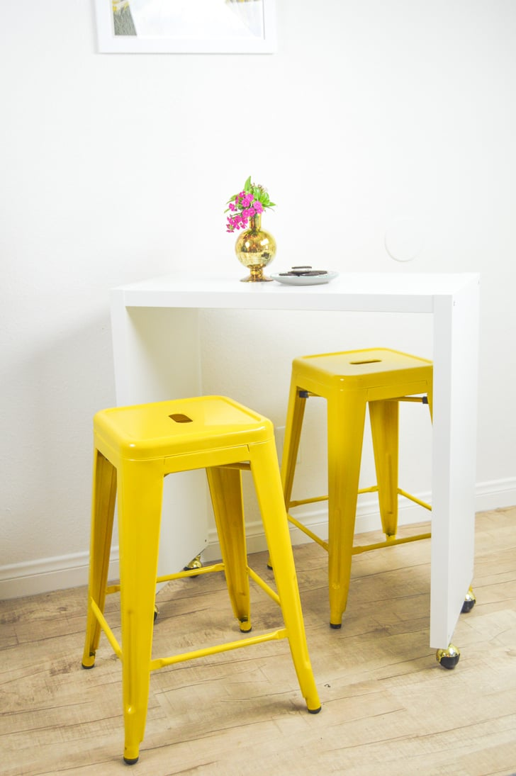 Movable Breakfast Bar Ikea Kitchen Hacks Popsugar Home