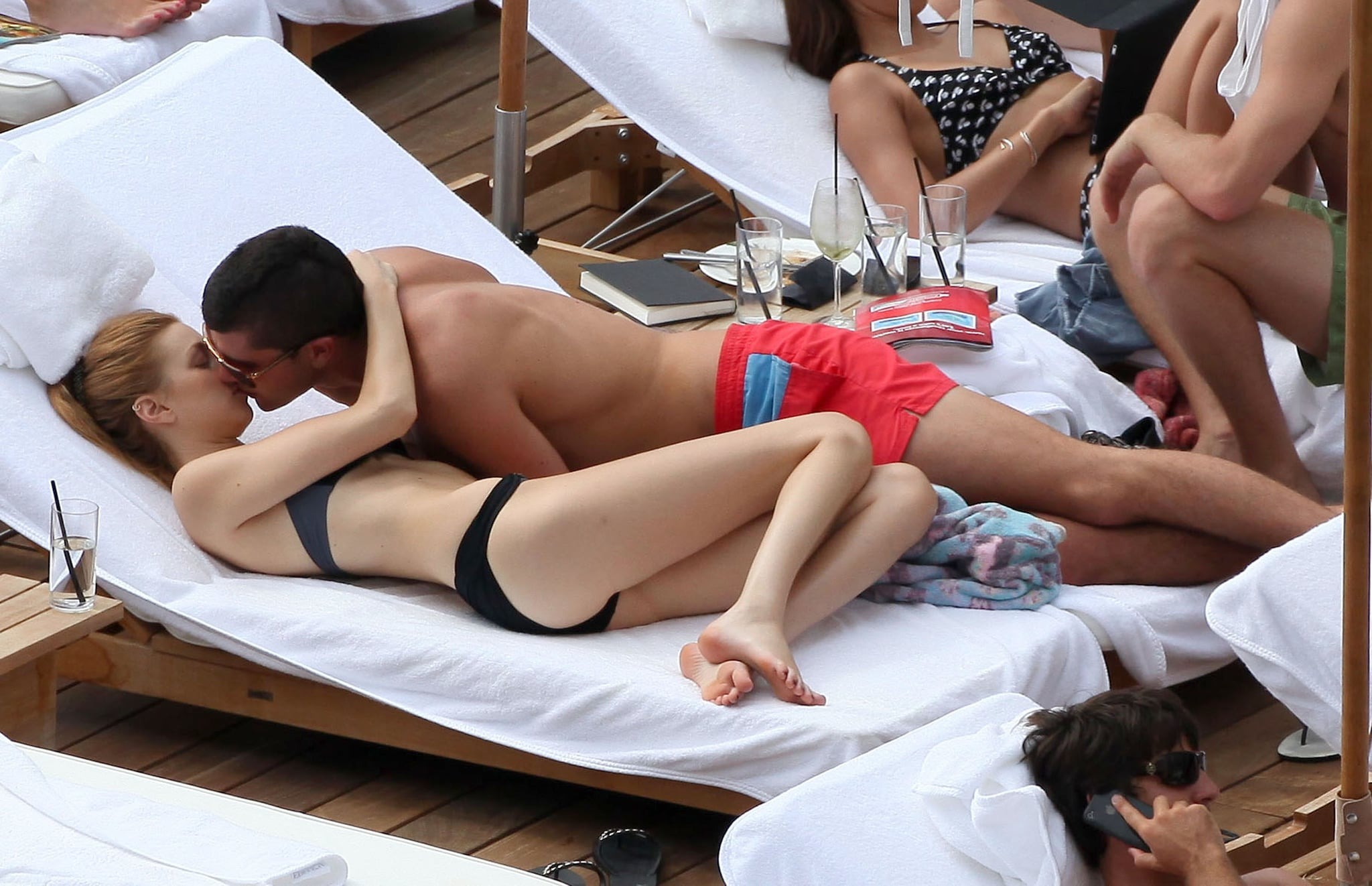 Whitney Port made out with Ben Nemtin during a Hawaii getaway in October 2010.