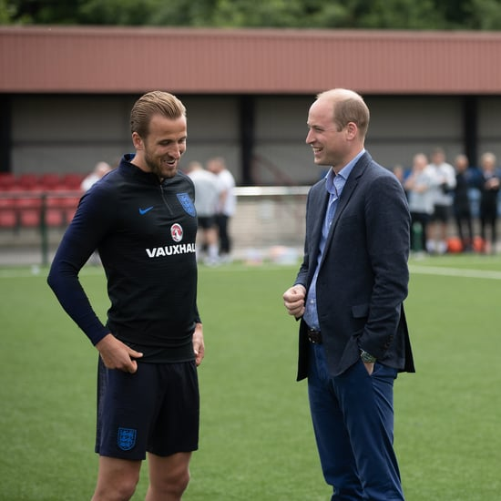 Prince William With England's Football Team June 2018