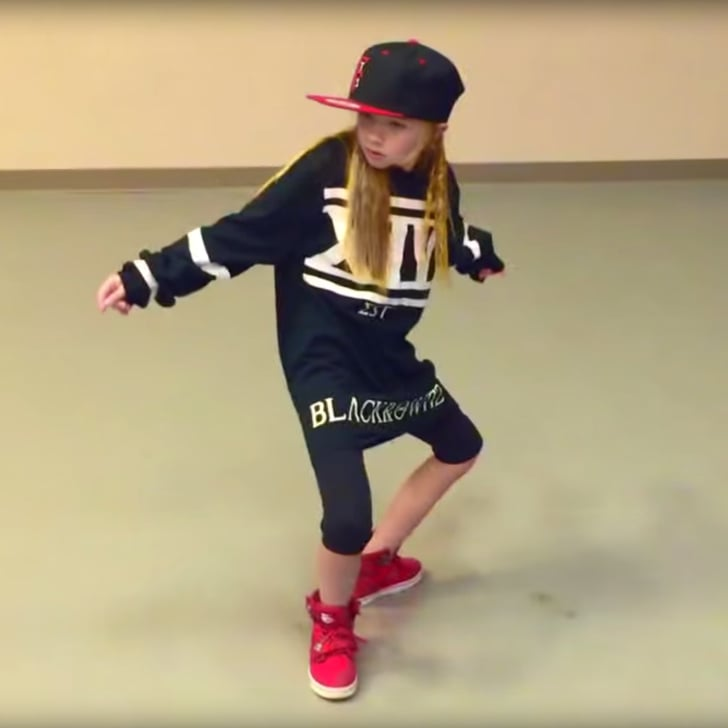 Little Girls Dancing Hip Hop