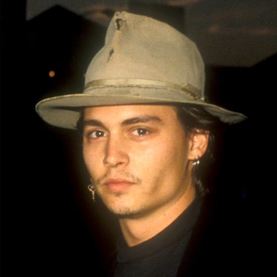 pictures of johnny depp over the years popsugar celebrity