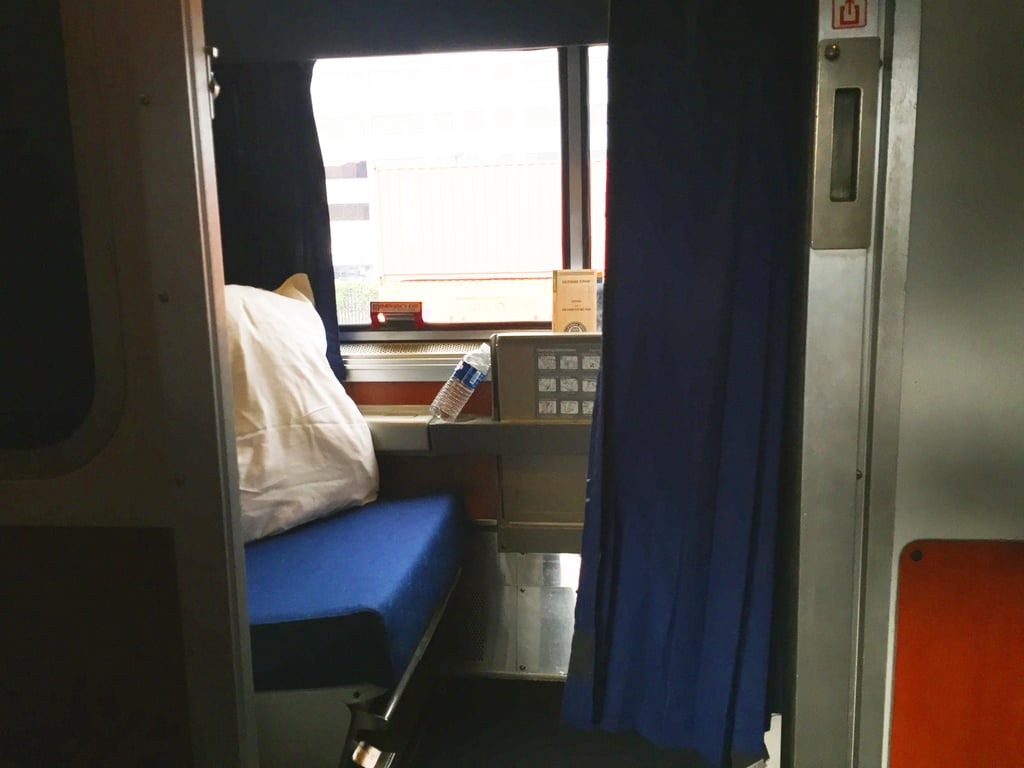 The roomette is incredibly small, but it comes with lots of perks.