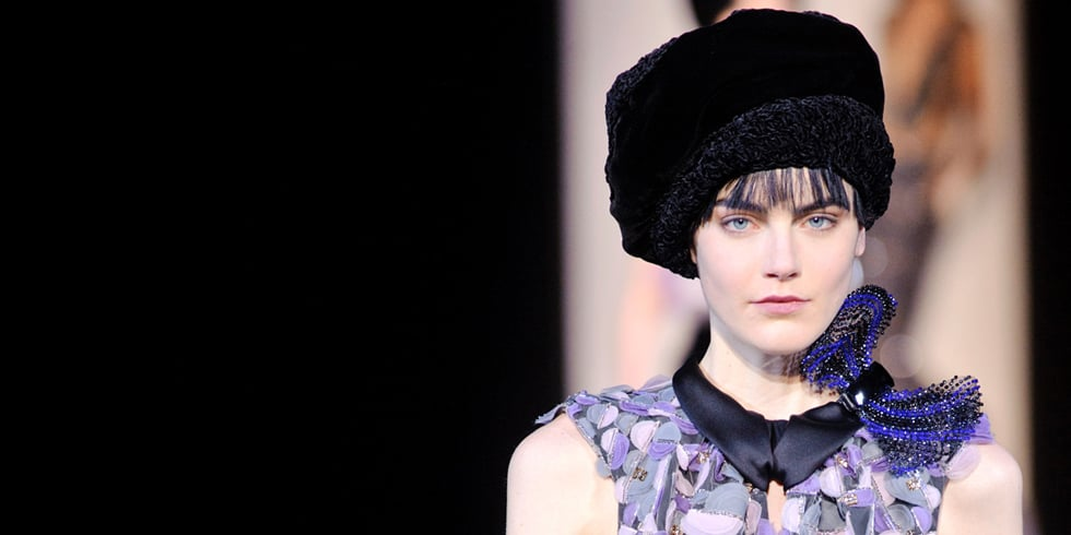 The Best Armani Fashion Show Hair and Makeup