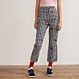 Hello Kitty x Lazy Oaf Bow Gingham Trousers ($89)
