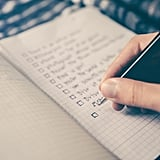 Make a checklist of things to bring and double-check it.