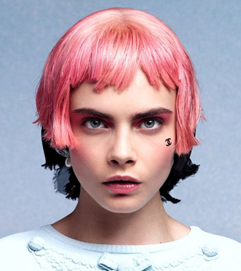 Confirmed: Chanel Will Sell Velvet Interlocking C Face Stickers