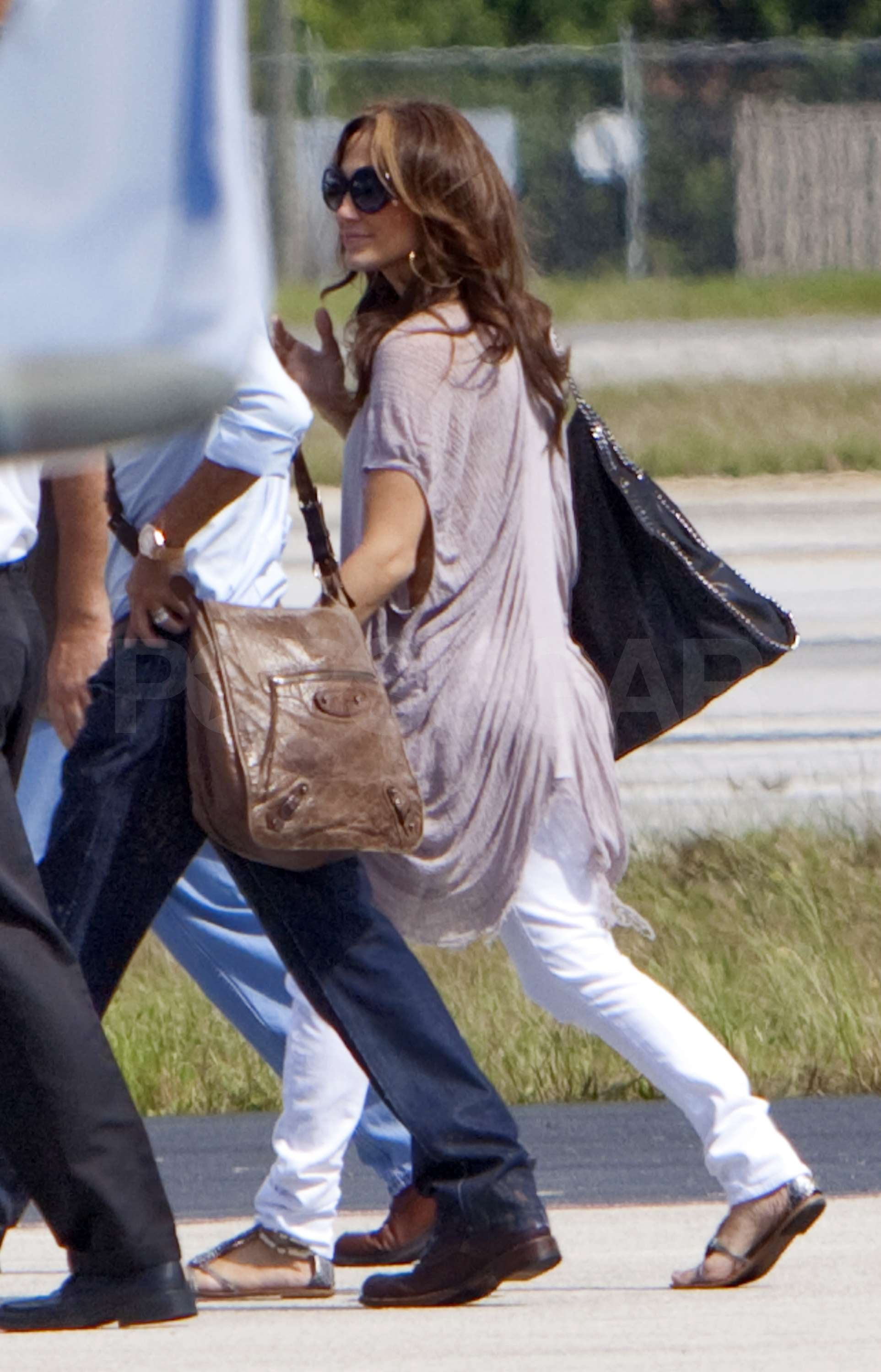 Photos of Jennifer Lopez And Marc Anthony Leaving Miami on ...