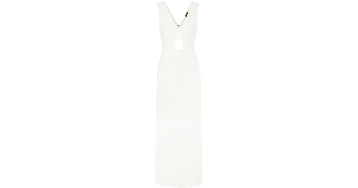 Topshop plunge maxi dress best wedding dresses for the for Maxi dress for wedding reception