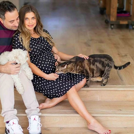 Danielle Fishel's Maternity Photos