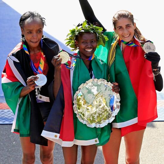 Women's Winner of the 2014 NYC Marathon, Mary Keitany