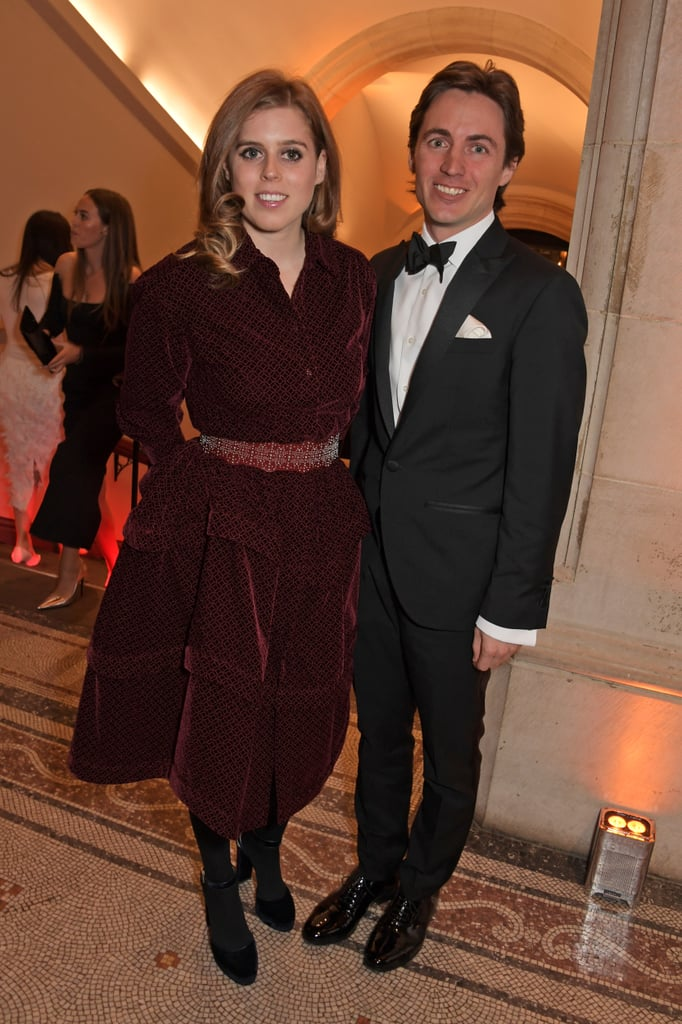 Princess Beatrice and Edoardo Mapelli Mozzi at Portrait Gala