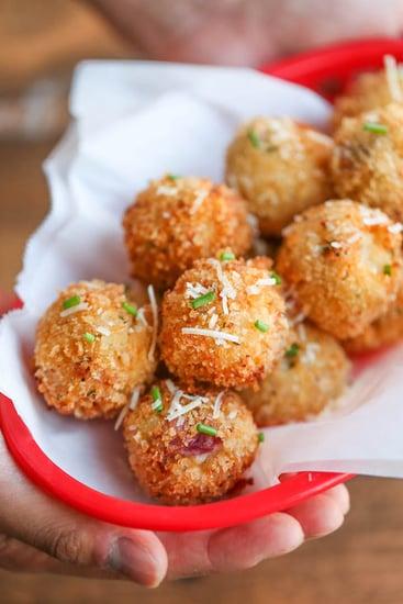 Loaded Mashed Potato Croquettes