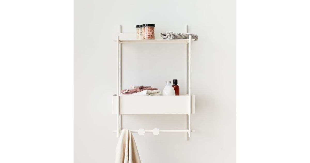 West Elm Floating Lines Metal All in e Shelf