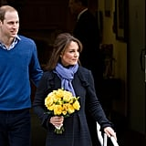 Kate Middleton Leaves the Hospital | Pictures