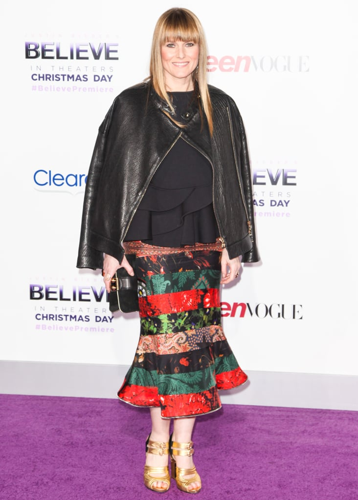 Amy Astley at the premiere of Justin Bieber's Believe.